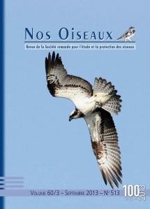 Couverture Nos Oiseaux 60/3 septembre 2013
