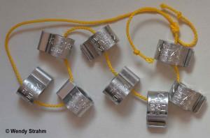 Aluminium Osprey rings from Sempach 26jun15
