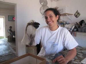 Andreia Dias, coordinatrice du projet en 2013.