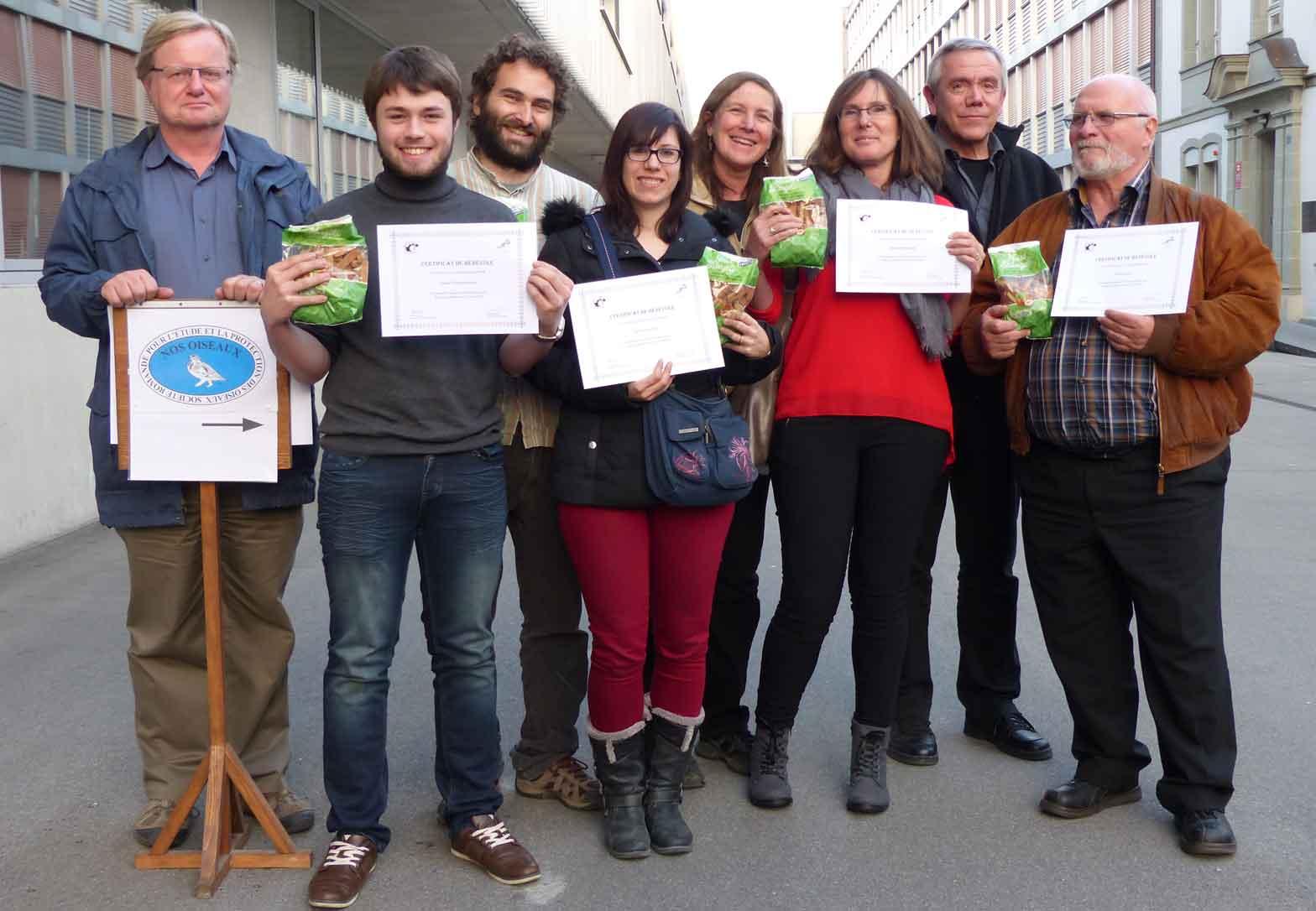 Equipe Projet Balbuzard à l'Assemblé générale de Nos OIseaux