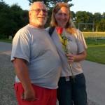 Bouby Curti et Wendy Strahm
