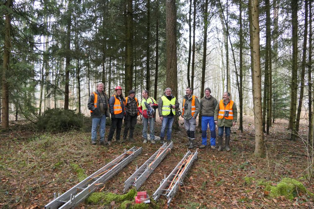 L'équipe de construction