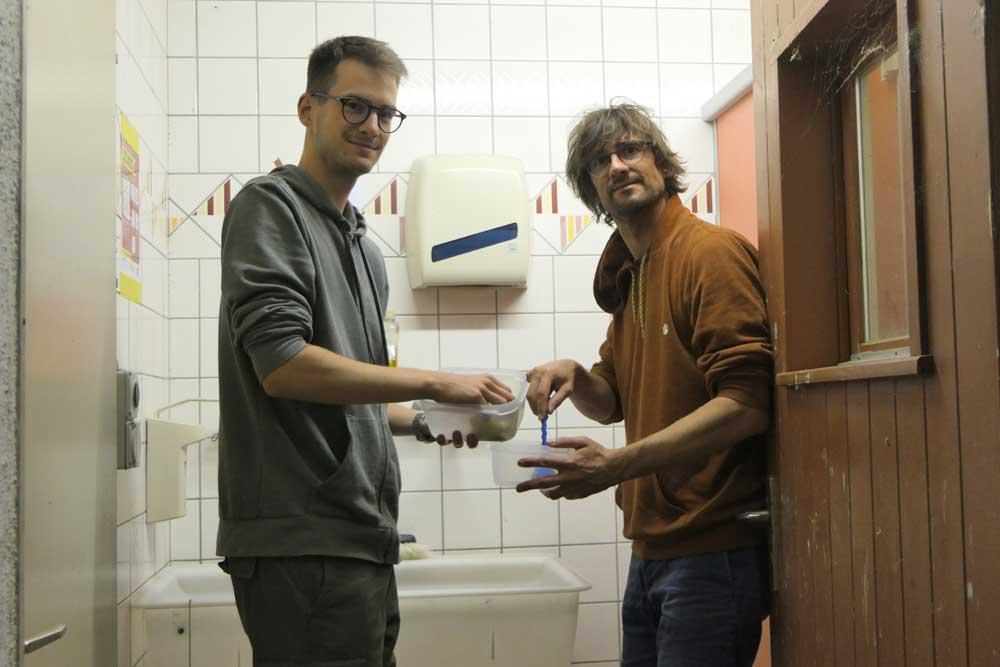 Niels Friedrich et Sven Henrioux Equipe Balbuzard